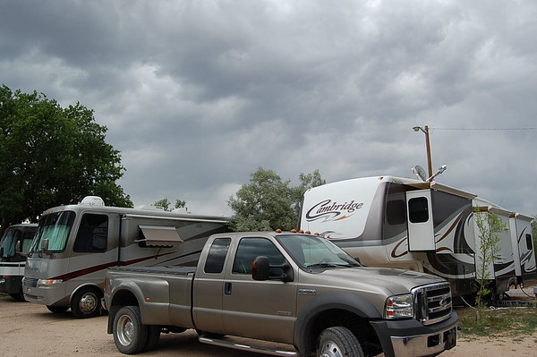Journal Site 67: Cottonwood RV Park & Black Mesa Golf Club, Espanola, NM - June 11, 2007