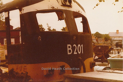 CIE C Class 201 Class  (Metropolitan Vickers with Crossley HSTV8 engine replaced by GM12-645E)