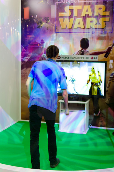 Star Wars Kinect at Igromir 2011