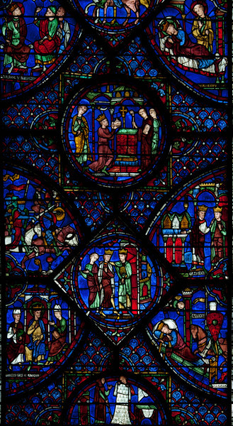 Chartres Cathedral Charlemagne Window