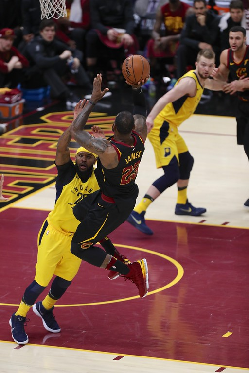 . Tim Phillis - The News-Herald Photos from the Cavaliers vs. Pacers on April 29 in Cleveland.