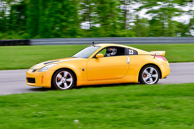 2019 SCCA May TNiA Pitt Race Yellow 350Z