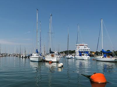 Lymington Quay England UK