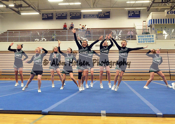 Cheer at LCC - Williamston Varsity - Round 1 - Jan 25