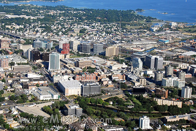 Stamford, CT 06901 (downtown) - AERIAL Photos & Views