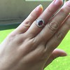 1.52ct Ruby Halo Ring, GIA No Heat 15