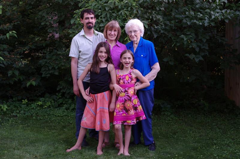 Four generations portrait, #1.