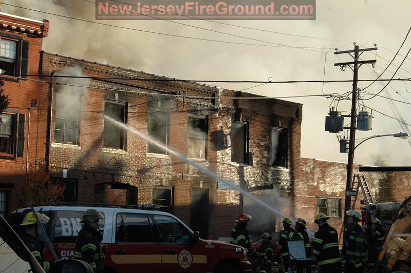 11-28-2010 PA Philadelphia 1120 Oneil St.-3rd Alarm Warehouse
