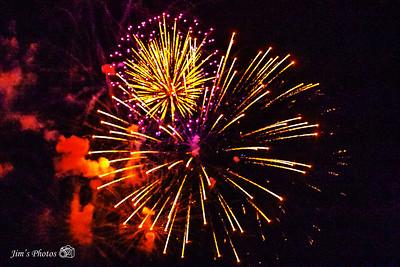 Fireworks - Monona - July 4th, 2018