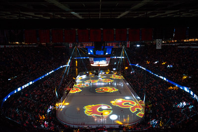 Flames vs Blackhawks