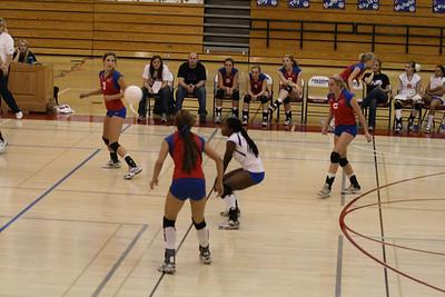 2008 FHS Varsity VB vs Monterey Trail 10-20-08