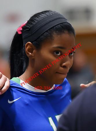 9-10-2015 - O'Connor at Xavier - Varsity Volleyball