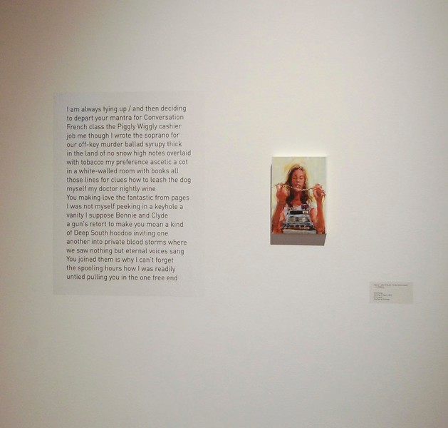 Sara Pedigo and Elizabeth Robbins, Transliteration, October 2012, installation view