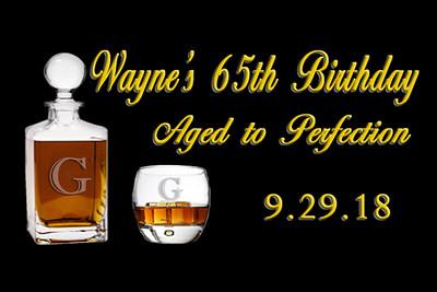 2018-09-29 Wayne's 65th Birthday