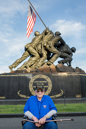Honor Flight Houston - Marine Corp Memorial