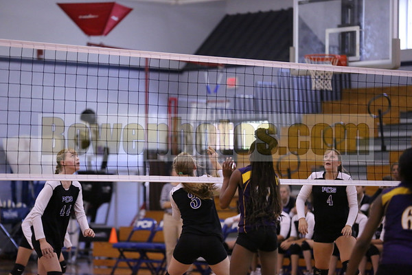 2013 Volleyball PCS vs H'burg (DL,JV & Varsity)