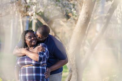 Shaneka & Deion | A Joyful & Fun Engagement at Tanger Family Bicentennial Garden