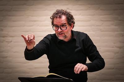 Nieuwe dirigent Hans de Wilde