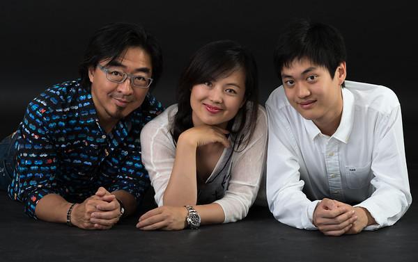 Dennis, Sherry & Jin Hua