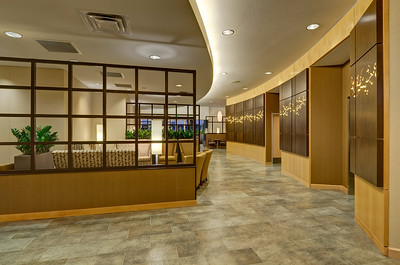 Baylor Medical Center, Trophy Club, Texas.  Client:  Interior Design Group, Fort Worth, Texas