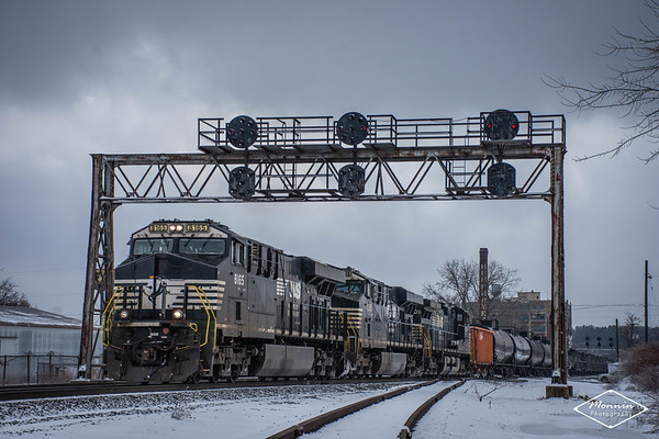Norfolk Southern Fort Wayne Line - Bucyrus to Mansfield, OH