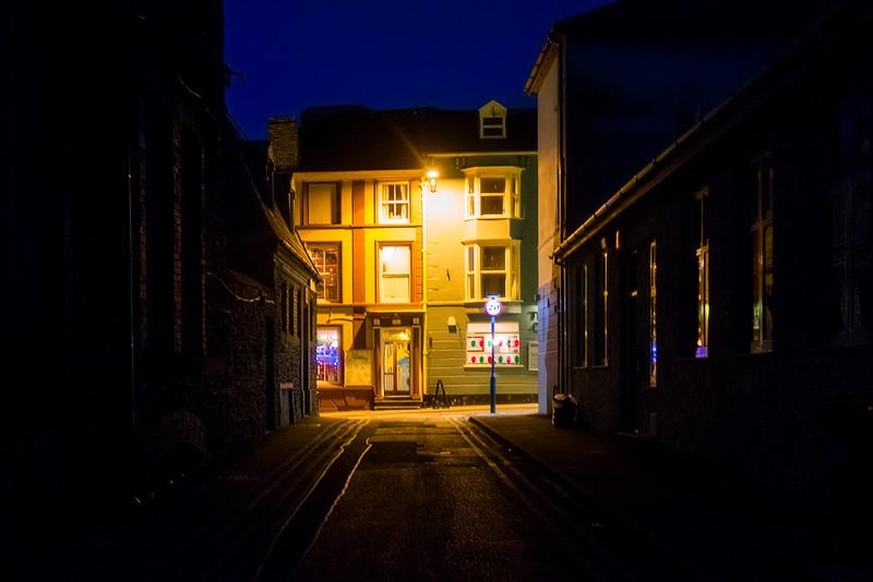 Aberystwyth at Night
