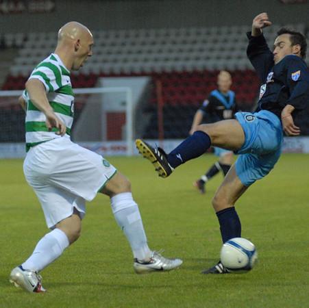 Airdrie v Celtic (0.1) 25 7 07