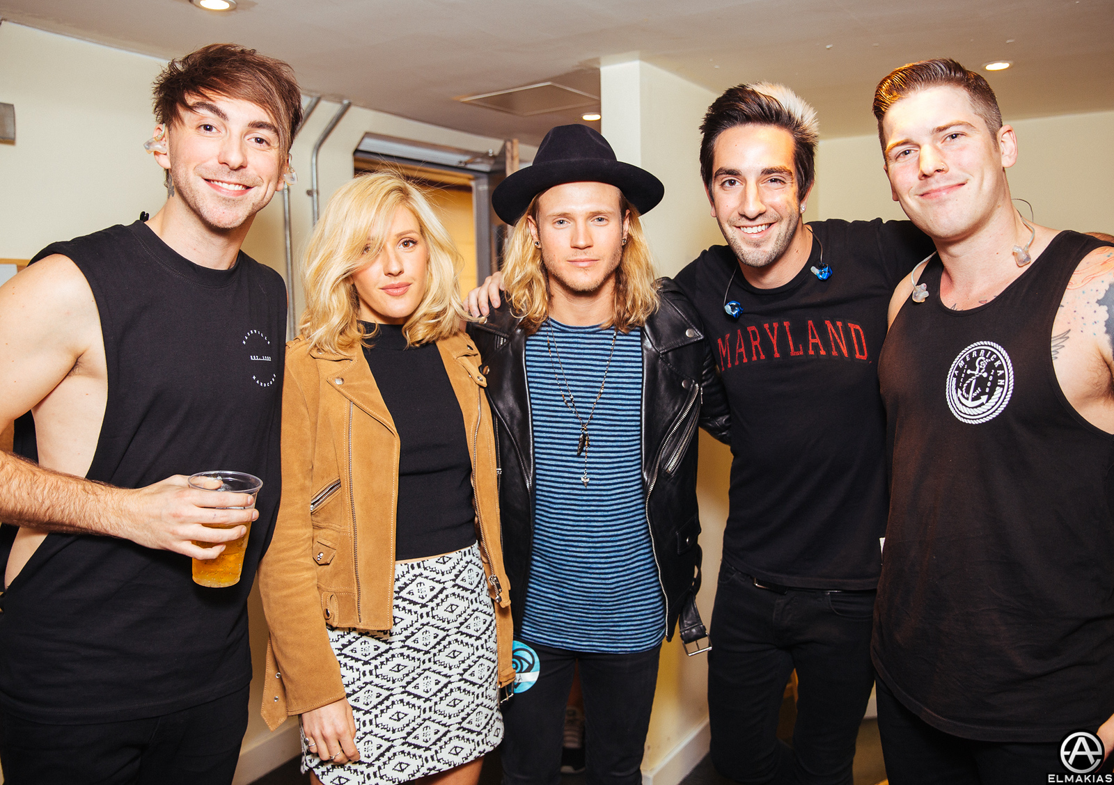 All Time Low with Ellie Goulding and Dougie Poynter