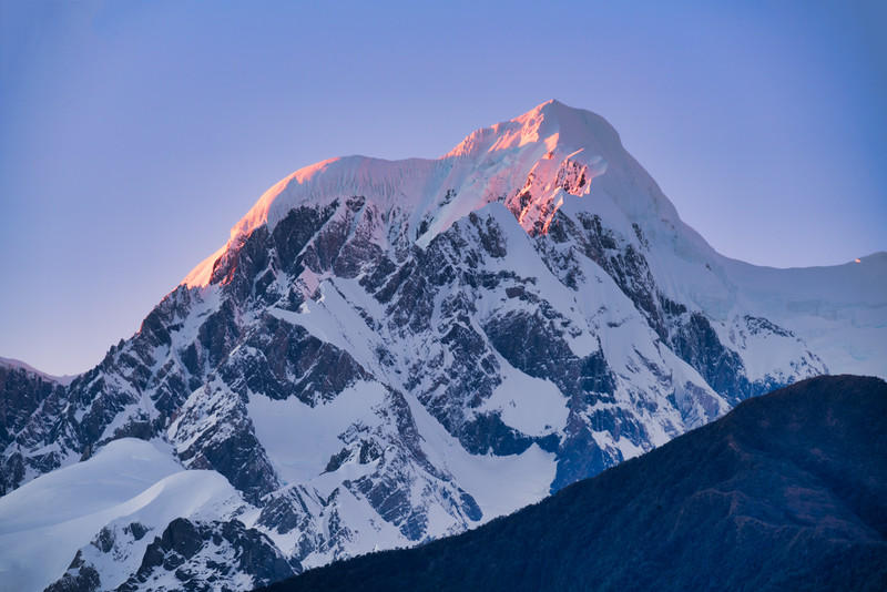 Alpenglow on Aoraki Mt. Cook