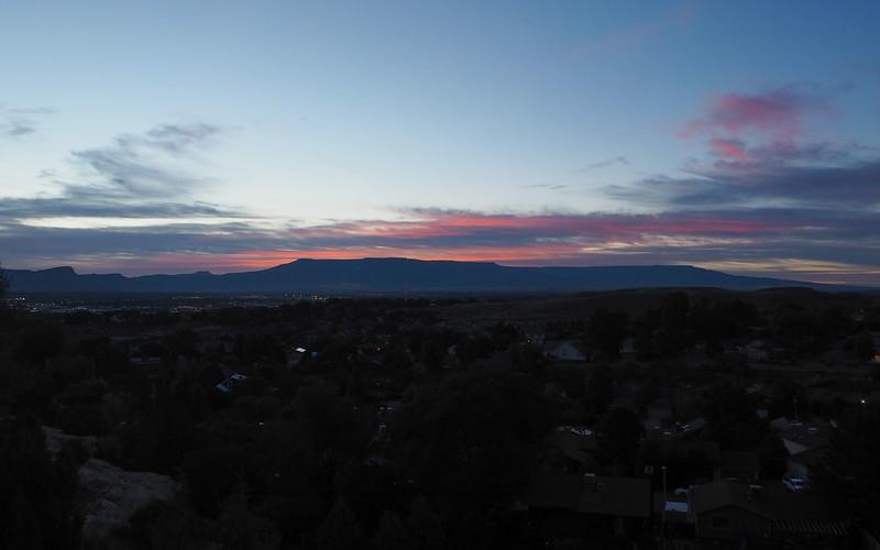 Grand Junction sunset