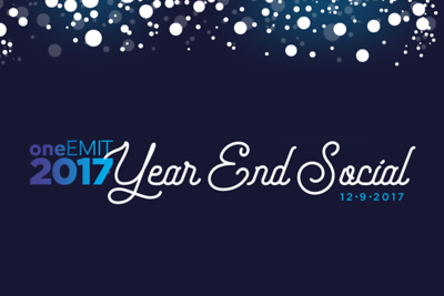 oneEMIT Year End Social 12/9/17