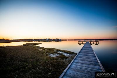Boat Ramp Sunset