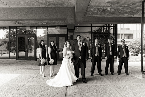 Dave and Christie - Couple and Wedding Party
