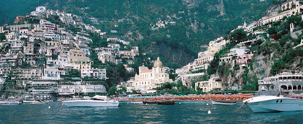 Positano and Amalfi