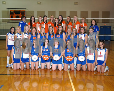 Marshall County Volleyball  -  Team, Individuals, Buttons and Buddy Pictues  -  August 10, 2008
