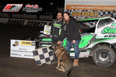 Orange County Fair Speedway - 4/17/21 - Mike Traverse