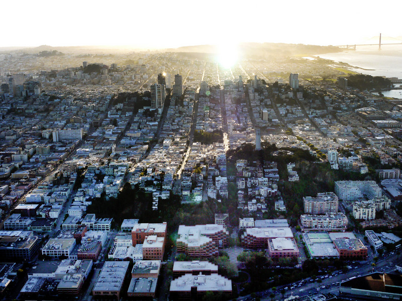 San Francisco, late afternoon.
