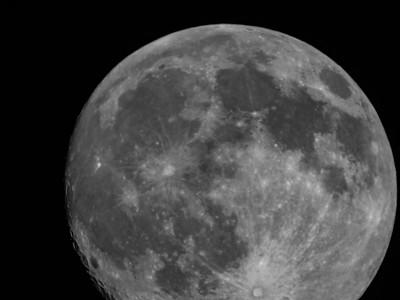 Moon lens test
