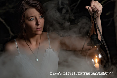 Chelsey Brooks alone in the dark