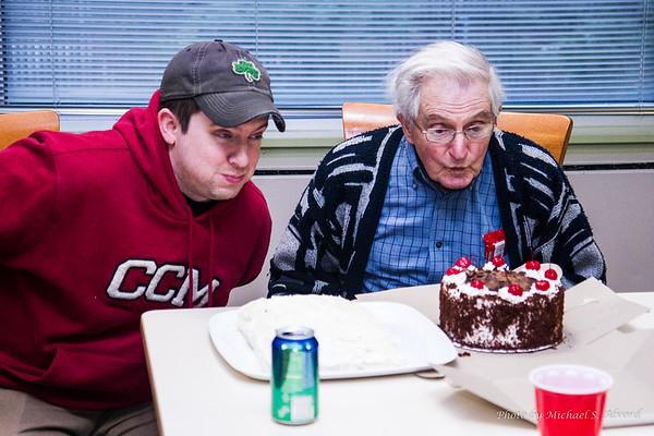Evan and Grandpa's Birthday 2014