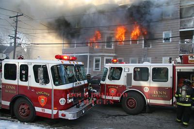 Lynn, MA - 3rd Alarm, 50 Burrill Ave, 1-9-09