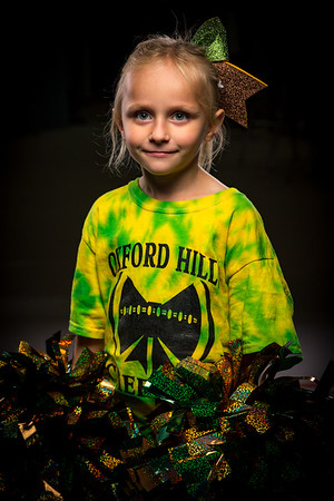 2018-09-20 Oxford Hills Youth Cheering