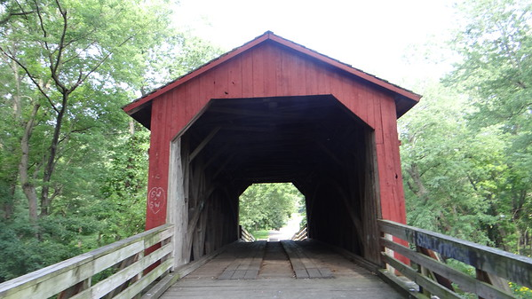 Sugar Creek Covered Bridge in Chatham/Glenarm