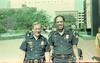 Paul Annee and Bobby Allen 1985 k-9 graduation