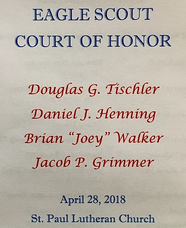 2018 04 Eagle Court of Honor
