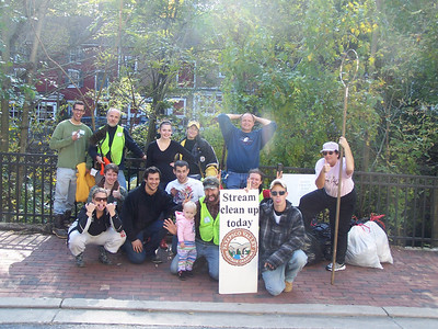 10.23.10 Tiber Hudson Branch Cleanup in Ellicott City