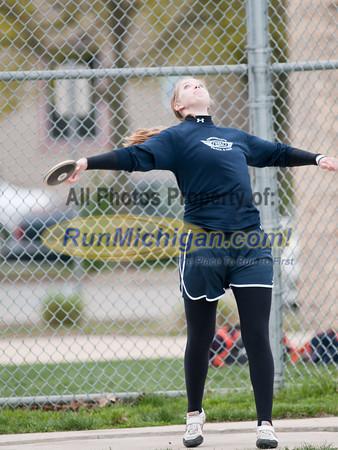 Women's Discus - 2012 Grand Rapids Open