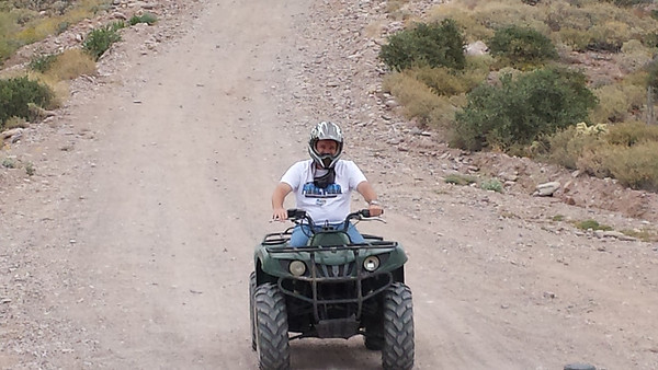 April 18th 2014 ATV tour Dustin