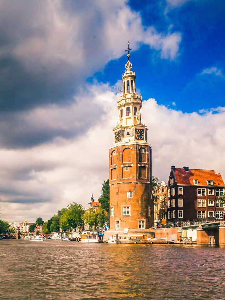 荷兰阿姆斯特丹,街头建筑