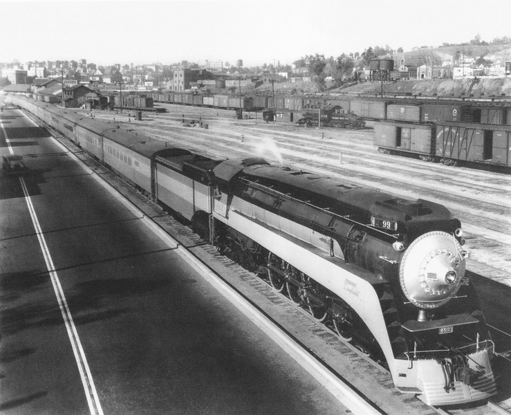 1937, Train at River Depot